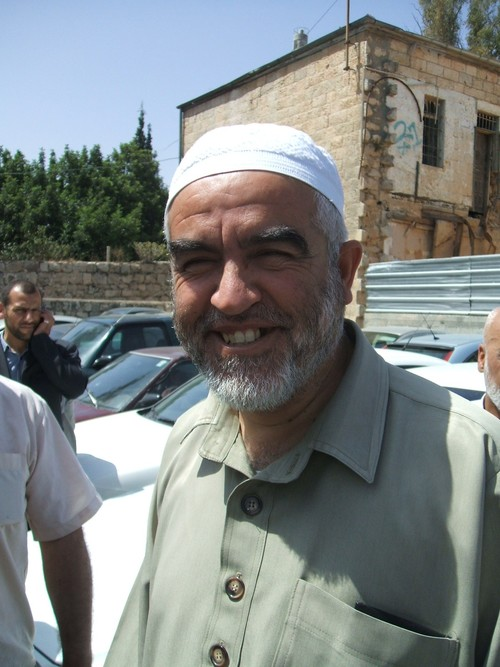 Islamic Movement head Sheikh Raed Salah. Credit: Stay Human via Wikimedia Commons.