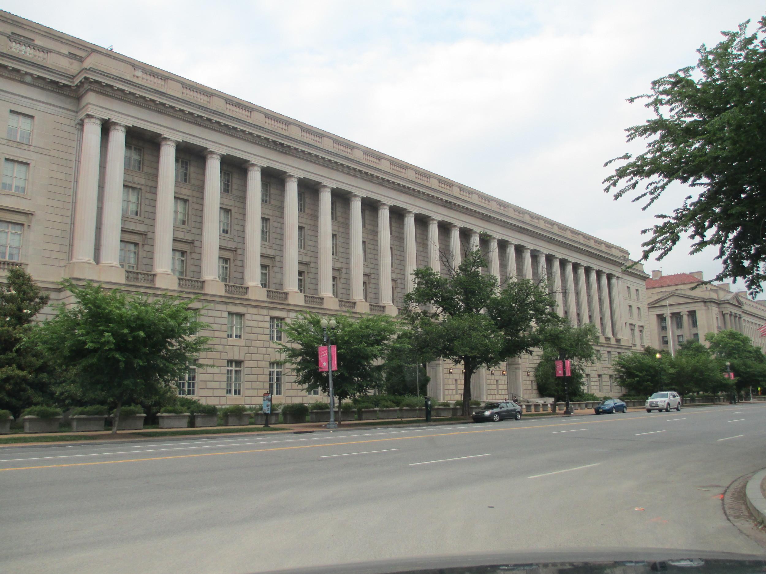 The IRS building in Washington, DC. Credit: Joshua Doubek via Wikimedia Commons.