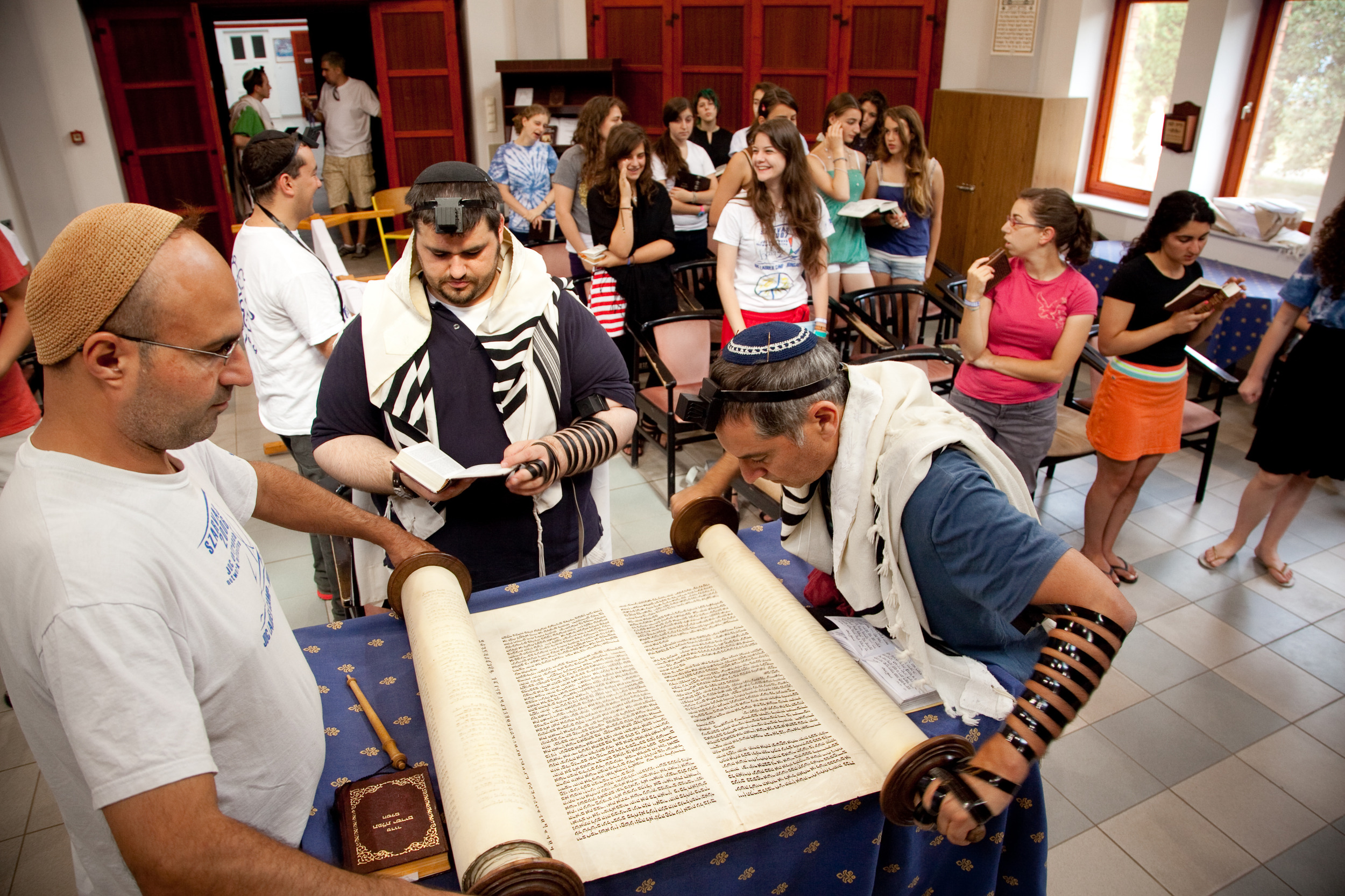 Click photo to download. Caption: Prayer services at   Camp Szarvas in Hungary in July 2011. Credit:   Zoltan Szabo  .
