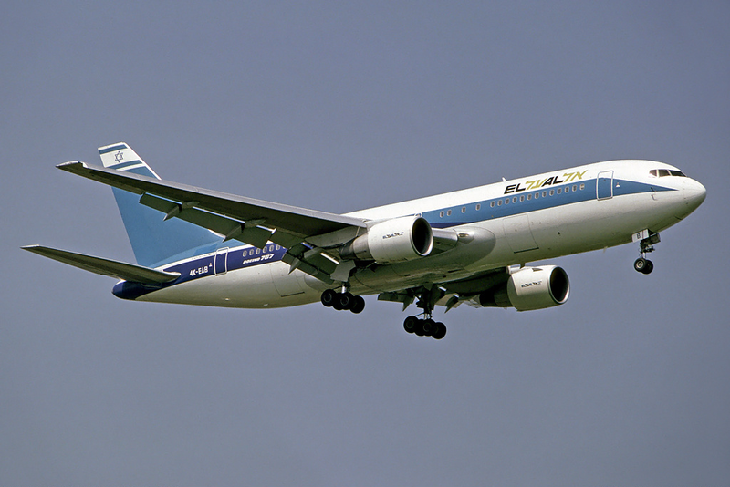 Click photo to download. Caption: An El Al plane. The Israeli airline has been among the companies receivingloan guarantees from the United States Export-Import Bank, which faces an uncertain future. Credit:Steve Fitzgerald via Wikimedia Commons.