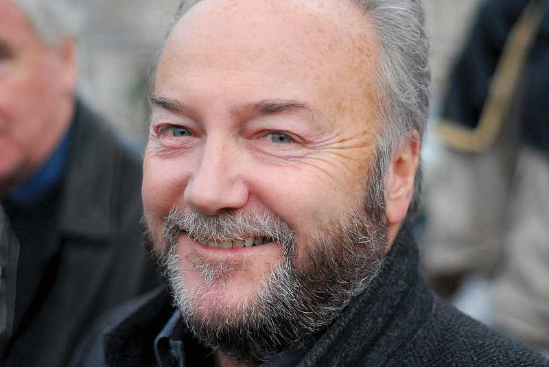 Click photo to download. Caption: George Galloway. Credit: David Hunt via Wikimedia Commons.