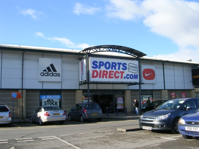 The British sporting goods store Sports Direct apologized on Tuesday for an incident where two Jewish children were refused entry. Credit: Wikimedia Commons.