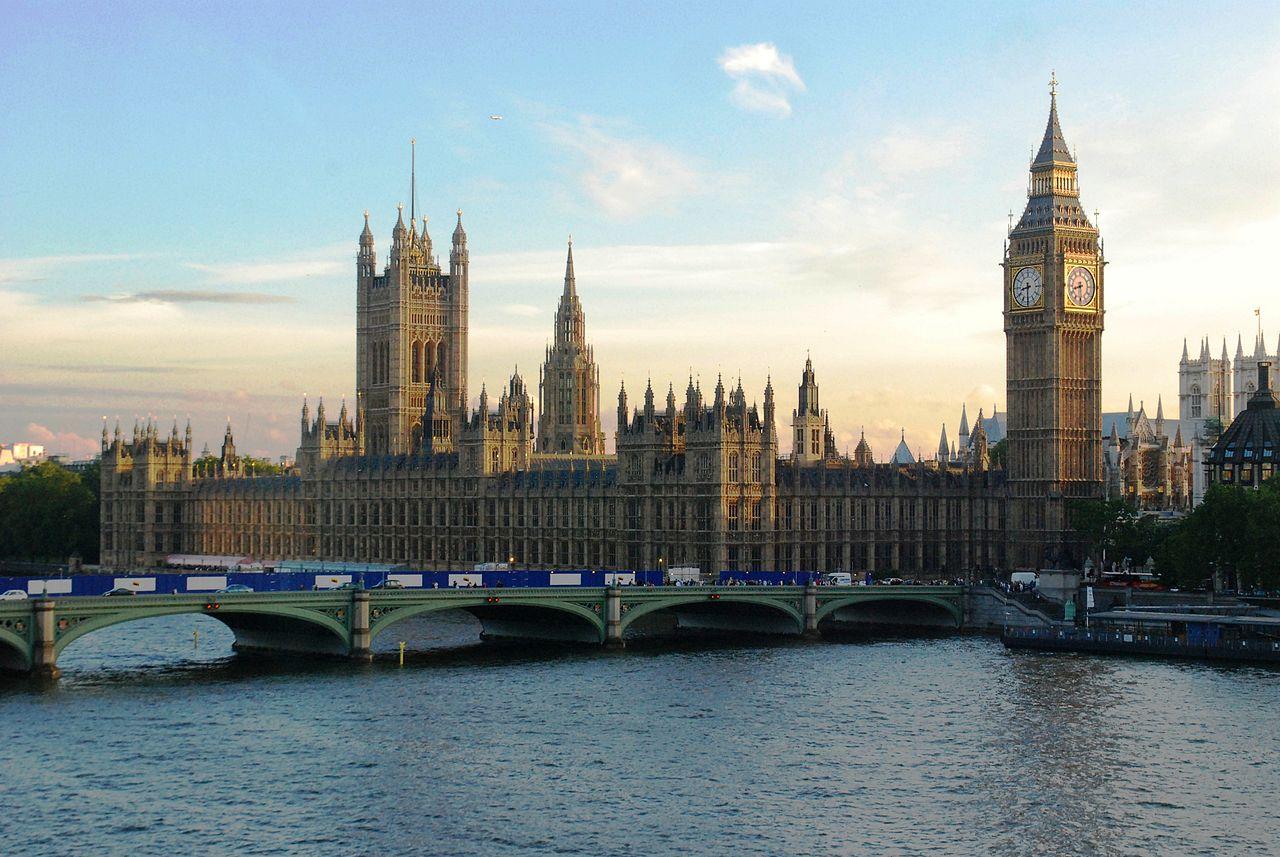 The British Parliament. Credit: Wikimedia Commons.