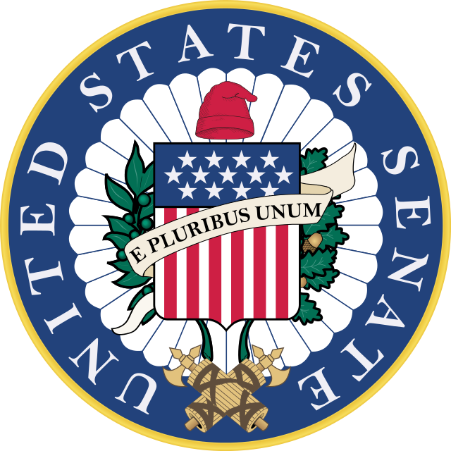 The Republican party retook control of the U.S. Senate (seal pictured). Credit: U.S. Senate.