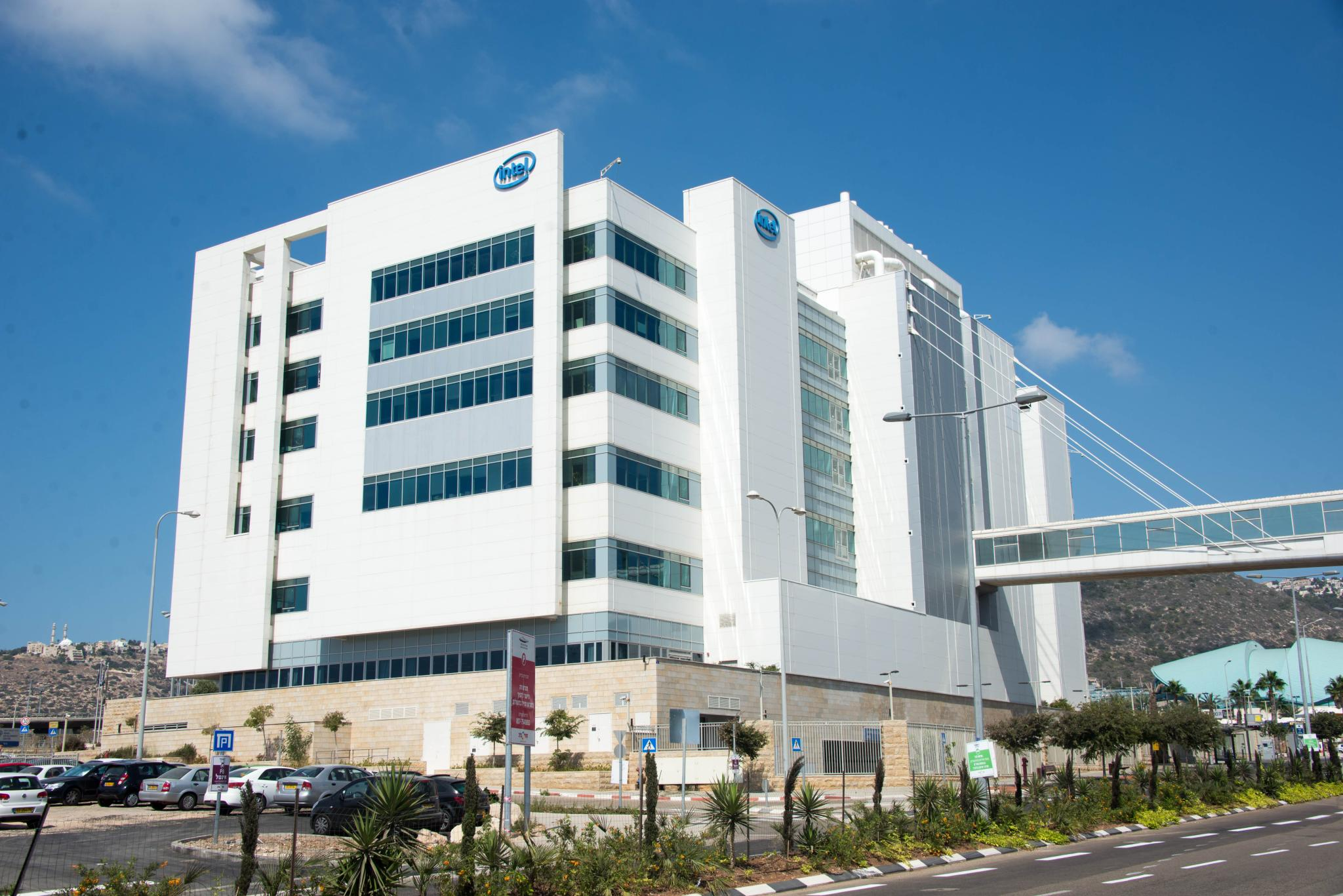 The Intel building in Haifa, Israel. Intel-Israel has sponsored a research competition for young adults. Credit: Wikimedia Commons.