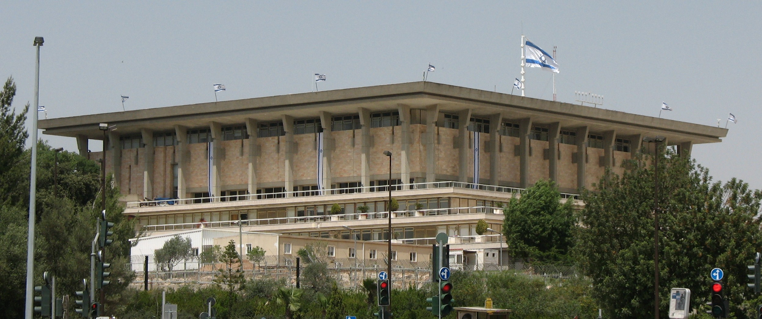 Click photo to download. Caption: The building of Israel's Knesset legislature. The next 120-member Knesset will include 40newcomers, 28 women, and 17 Arabs. Credit: James Emery via Wikimedia Commons.