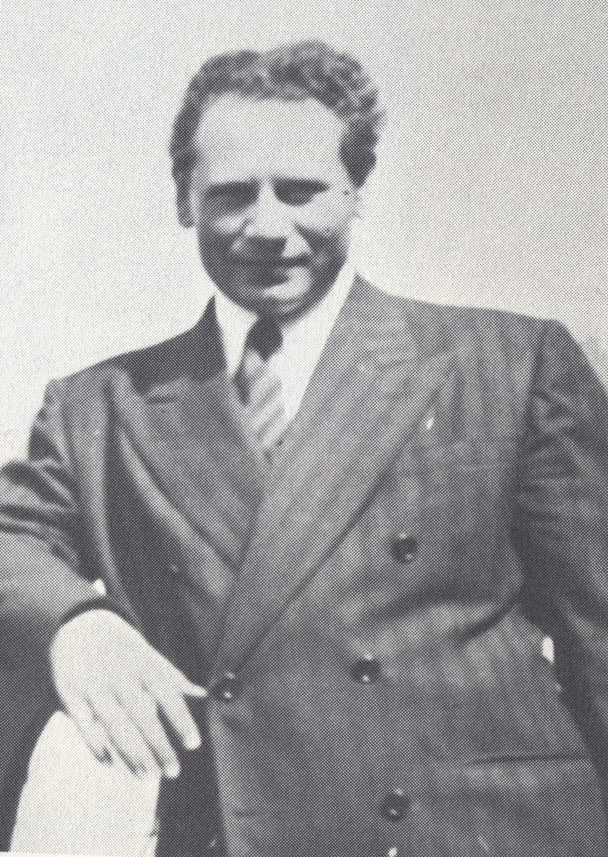 Click photo to download. Caption: Benzion Netanyahu in 1940. Credit: Courtesy of The David S.Wyman Institute for Holocaust Studies.