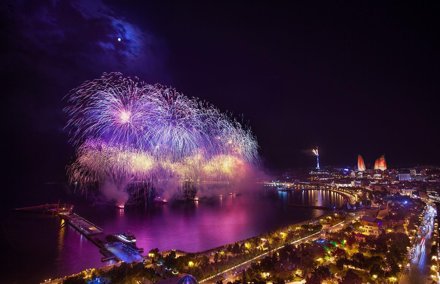 The countdown to the beginning of theEuropeanGames in Baku, Azerbaijan. Credit:Urek Meniashvili via Wikimedia Commons.