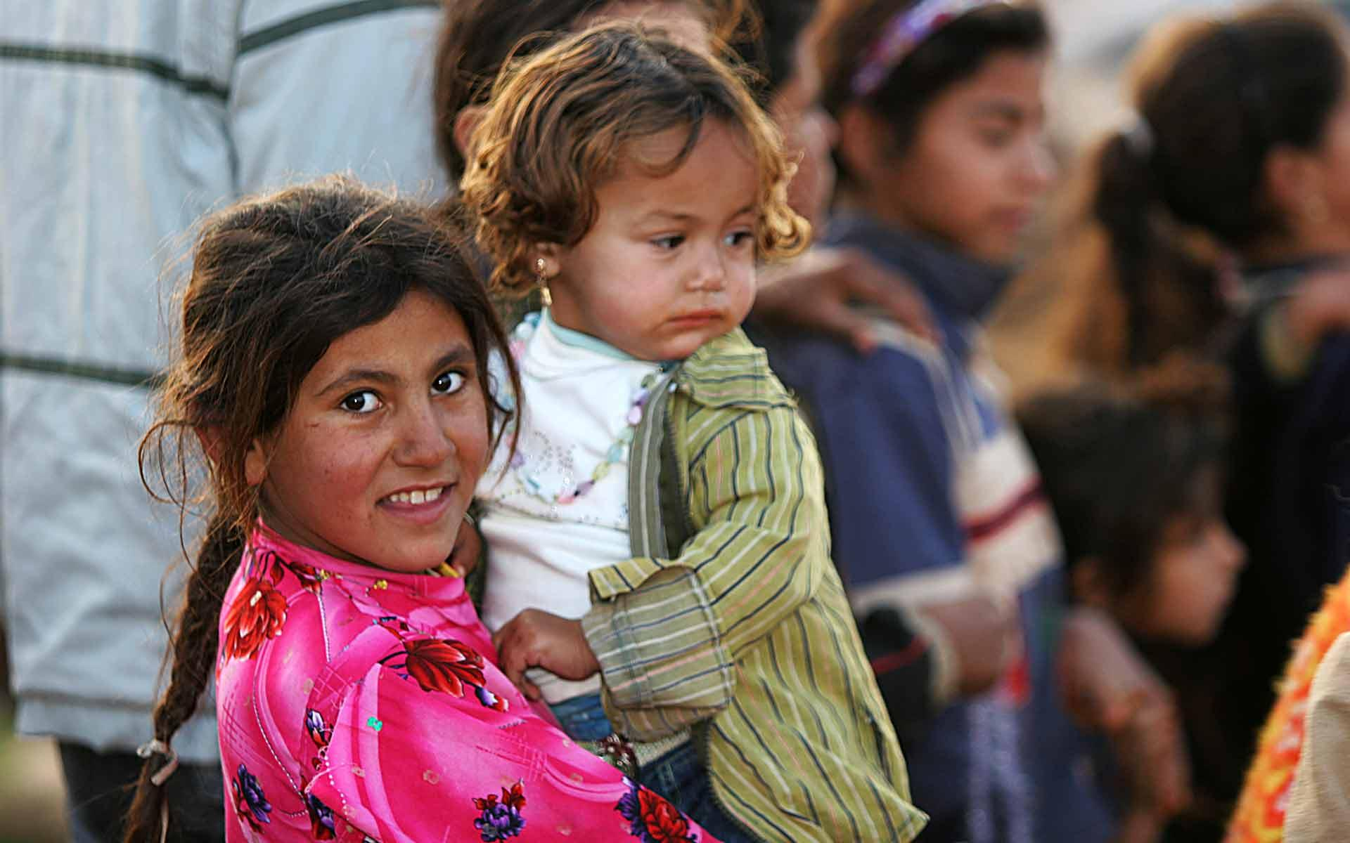 Iraqi refugee children inDamascus, Syria.A British-Jewishpublisher is funding the rescue of Christians persecuted by the Islamic State terror groupin Iraq and Syria. Credit: James Gordon via Wikimedia Commons.