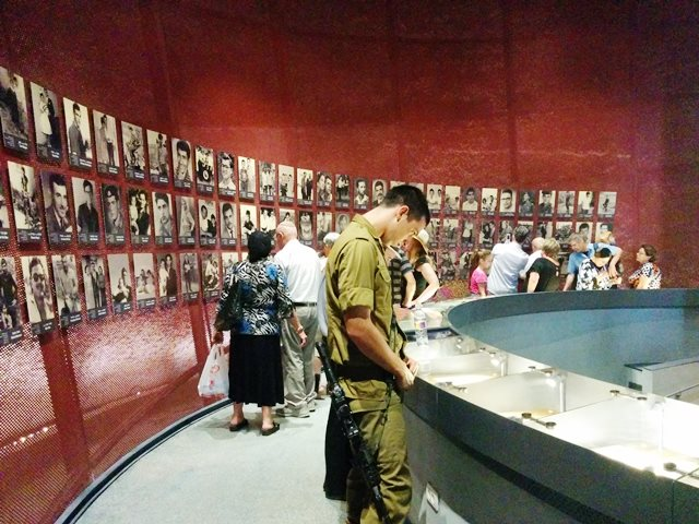 Click photo to download. Caption: The new commemoration hall at Jerusalem's Ammunition Hill. Credit: Jewish National Fund.