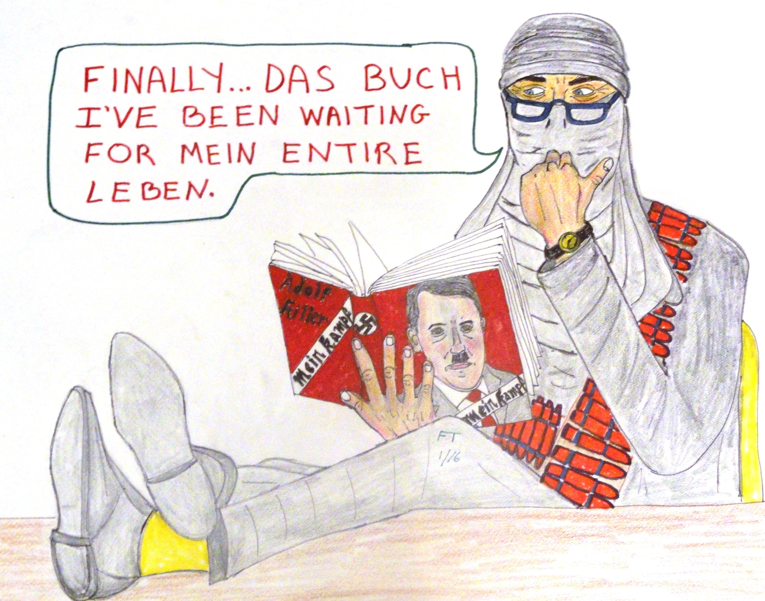 """Mein Kampf Mein Training Manual."" Credit: FeinTooner."