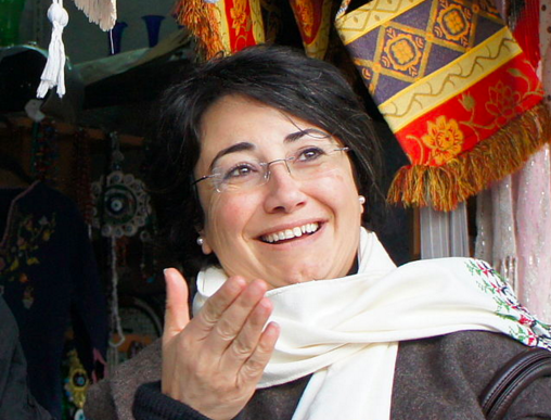 Arab MK Hanin Zoabi (pictured) is among the three Israeli Knesset members who met with Palestinian terrorists' families. Credit: Wikimedia Commons.
