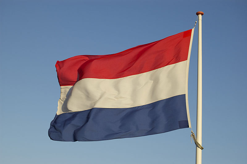 The Dutch flag. Credit: Wikimedia Commons.