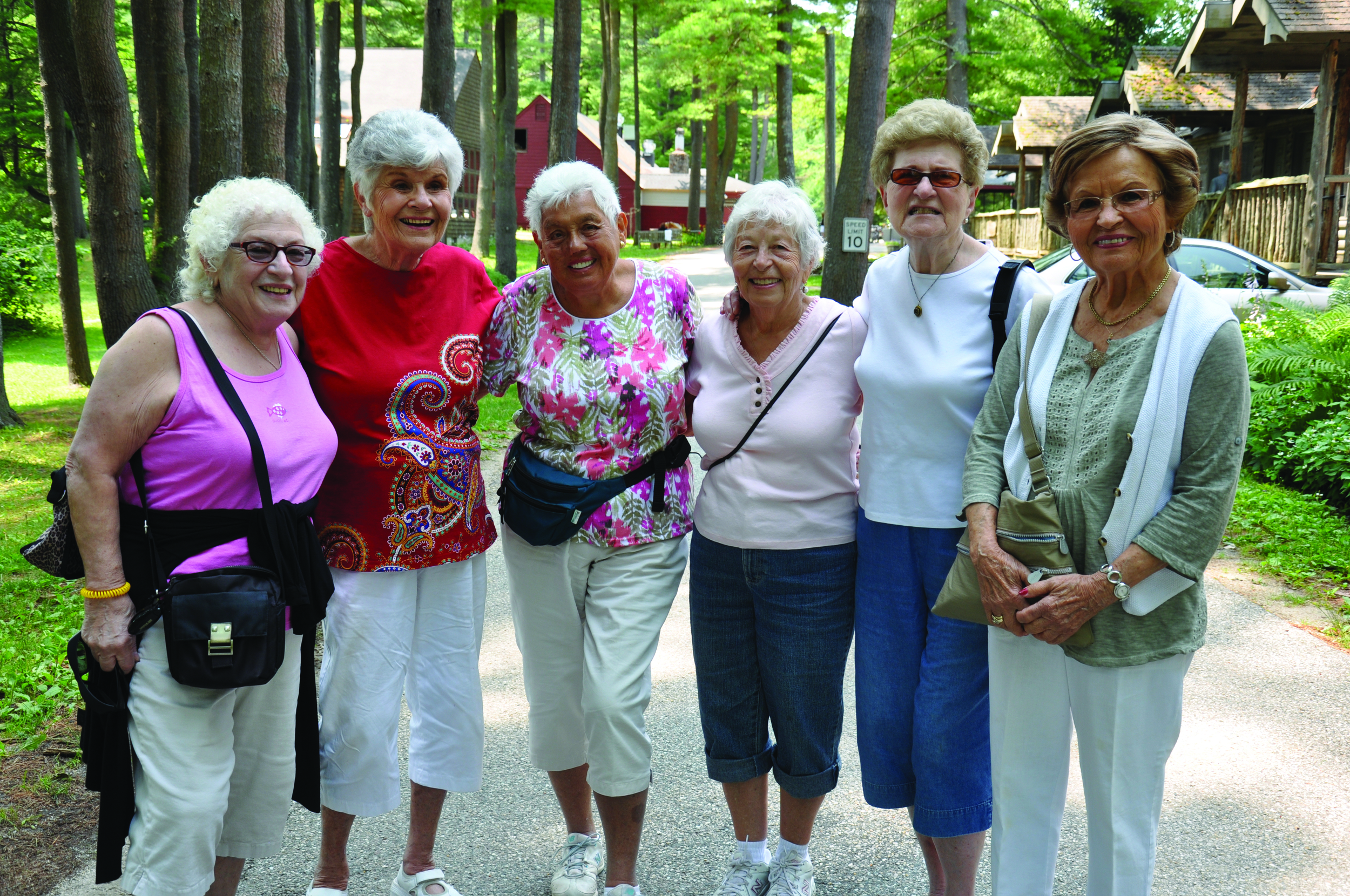 Click photo to download. Caption: The summer camp for seniors at Connecticut's Isabella Freedman Jewish Retreat Center. Credit: Isabella Freedman Jewish Retreat Center.