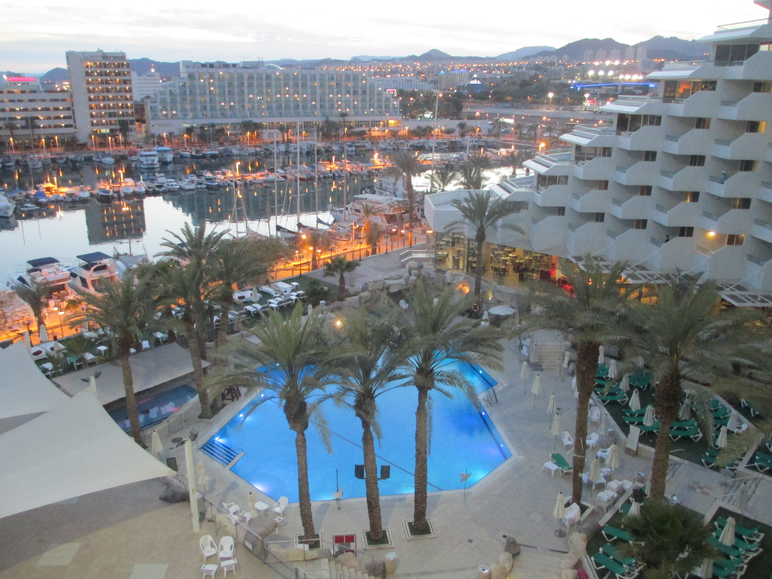 Click photo to download. Caption: The resort city of Eilat in southern Israel. Credit:Dr. Avishai Teicher/PikiWiki Israel.