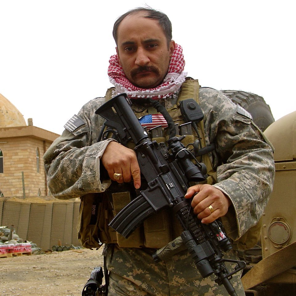Click photo to download. Caption: Retired lieutenant colonel Sargis Sangari, an expert on Assyrian Christians and founder of the Near East Center for Strategic Engagement think tank. Credit: Near East Center for Strategic Engagement.