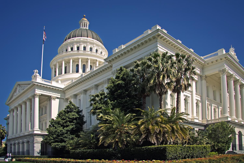 Click photo to download. Caption: The California State Capitol in Sacramento. Credit: Steven Pavlov via Wikimedia Commons.