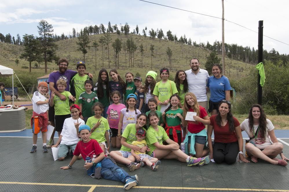 Mexican Jewish campers at Colorado's Ramah in the Rockies. Credit: Mexico City's Congregation Bet El.