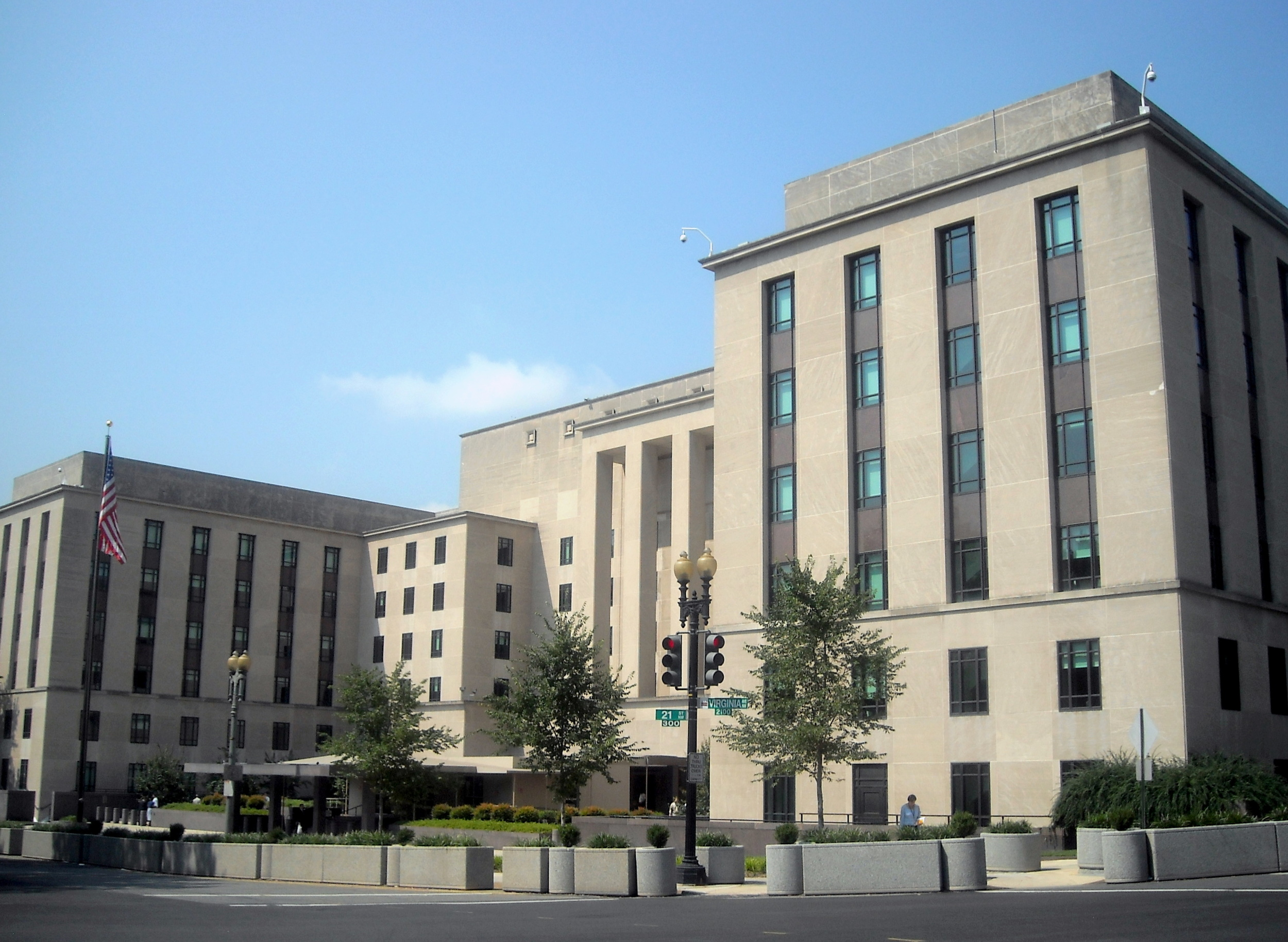 U.S. State Department's Truman Building. Credit: Wikimedia Commons.