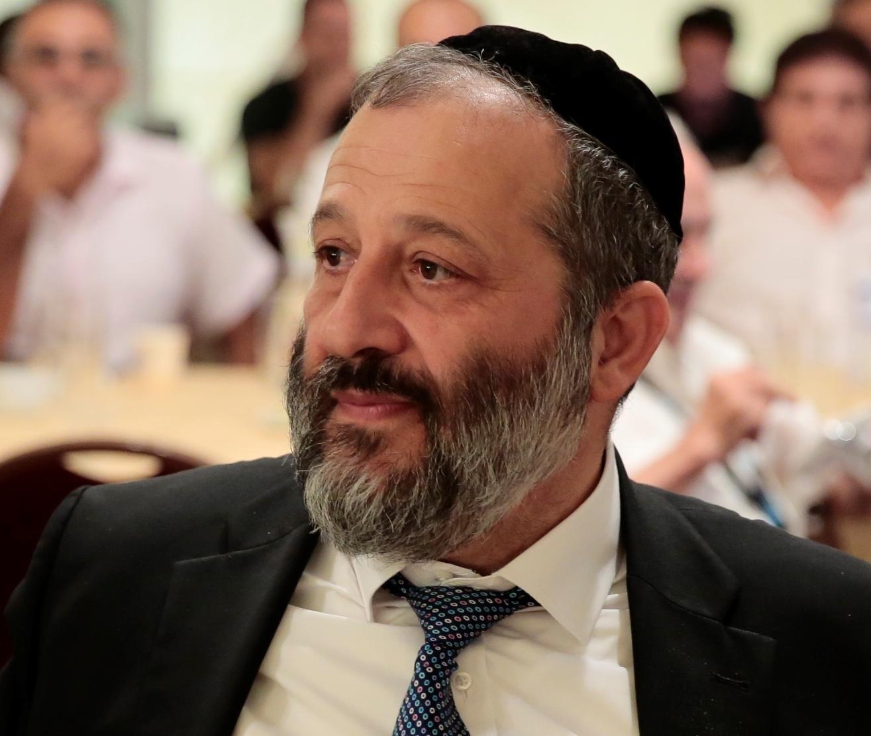 Israeli Interior Minister Aryeh Deri. Credit: Wikimedia Commons.