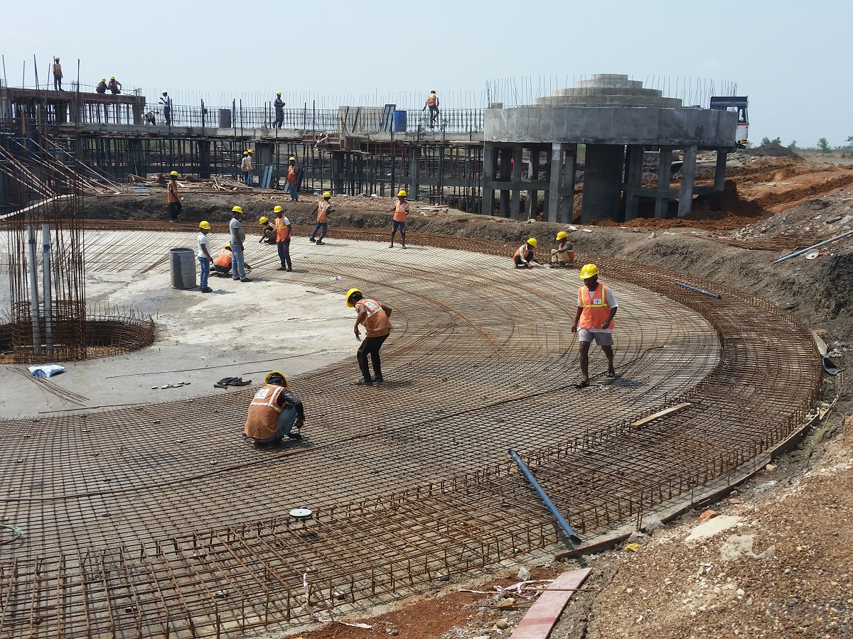 A project by the Israeli infrastructure company Tahal in India. Credit: Tahal.
