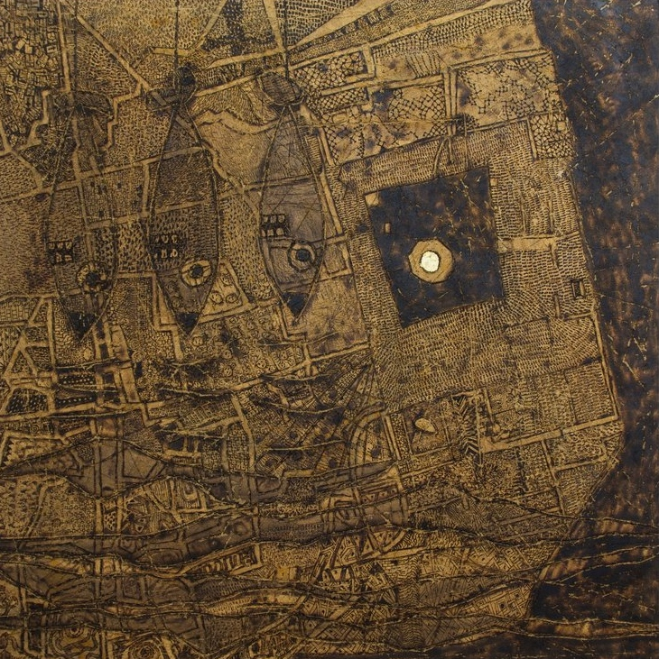 "Avner Sher's Jerusalem Biennale exhibit, ""Alternative Topography."" Credit:Jerusalem Biennale"