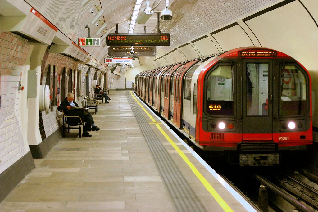 The London Underground. Credit: Tom Page via Flickr.com.