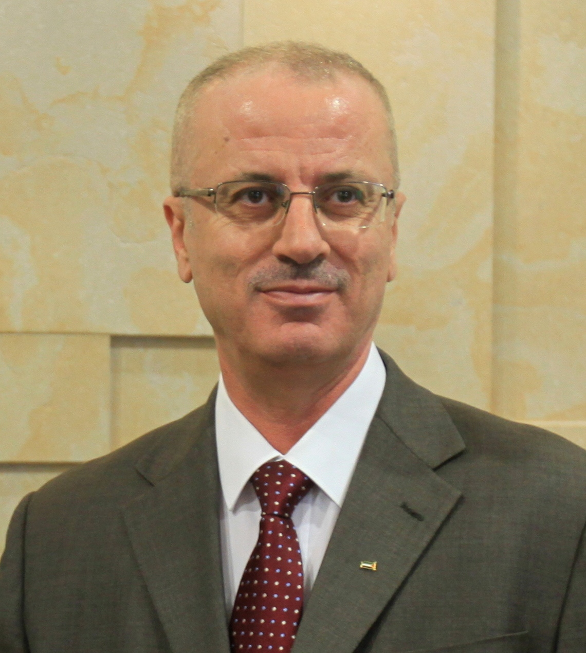 Palestinian Authority Prime Minister Rami Hamdallah. Credit: Wikimedia Commons.