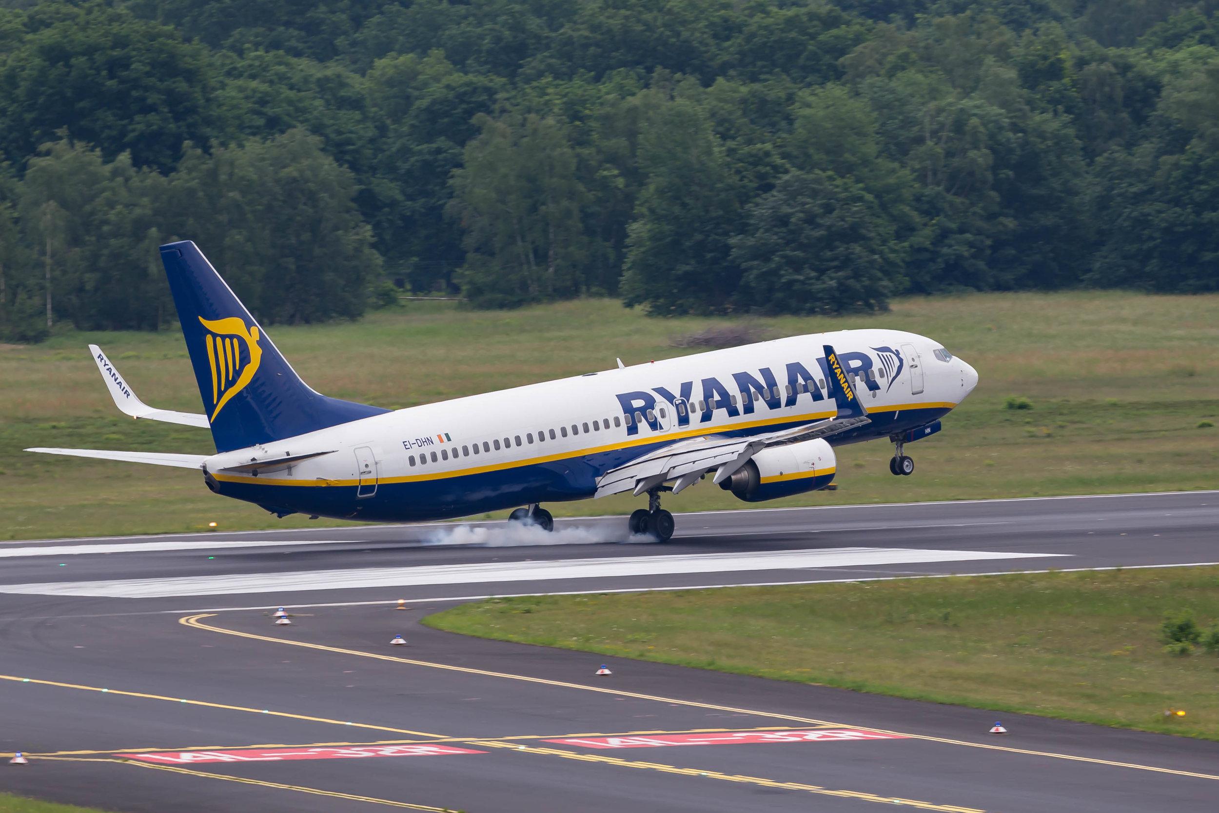 A Ryanair plane. Credit: Marco Verch via Wikimedia Commons.