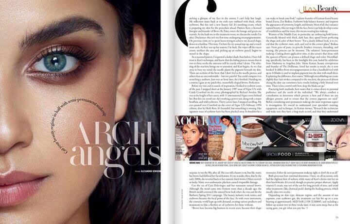 Hair & Makeup Vogue Germany