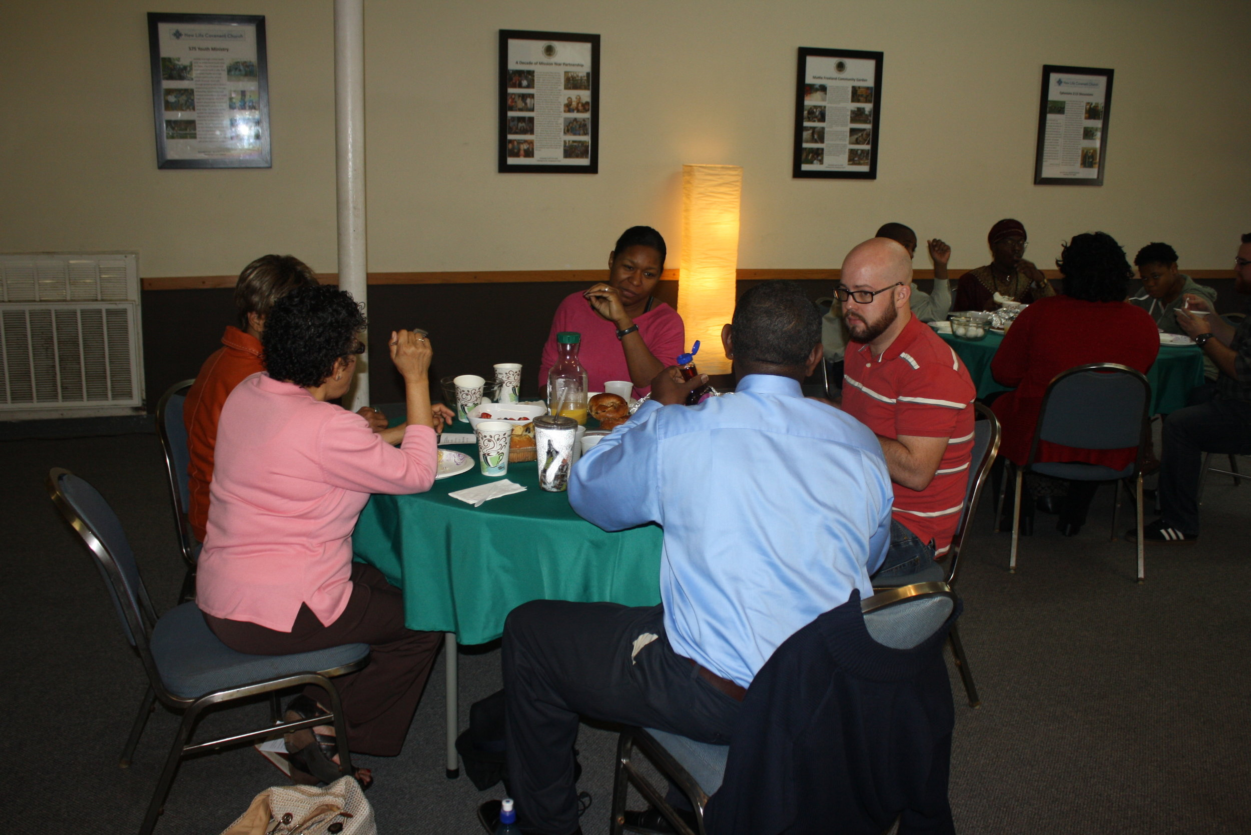 2017 Rev. Dr. King Brother and Sisterhood Breakfast Table Discussion