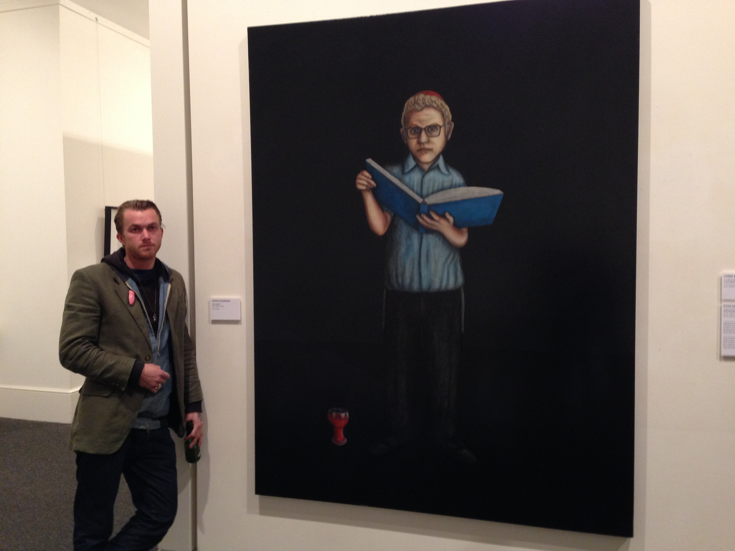 Justin Feuerring Salon Des Refuses 2014, John Safran