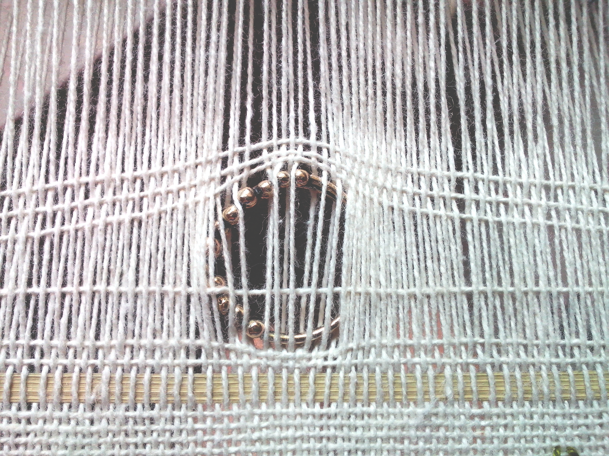 Experiments in the weave, ring and palm leaf