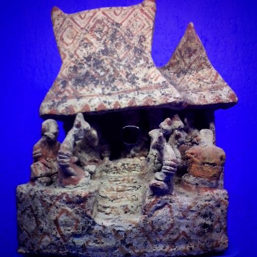 Pre-Hispanic pottery at the Rufino Tamayo Museum, Oaxaca