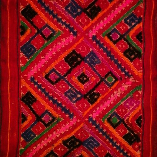 Backstrap loom weaving at the Textile Museum, Oaxaca