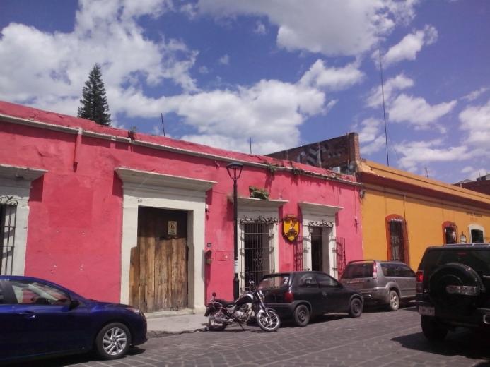 Street scene, Oaxaca old town