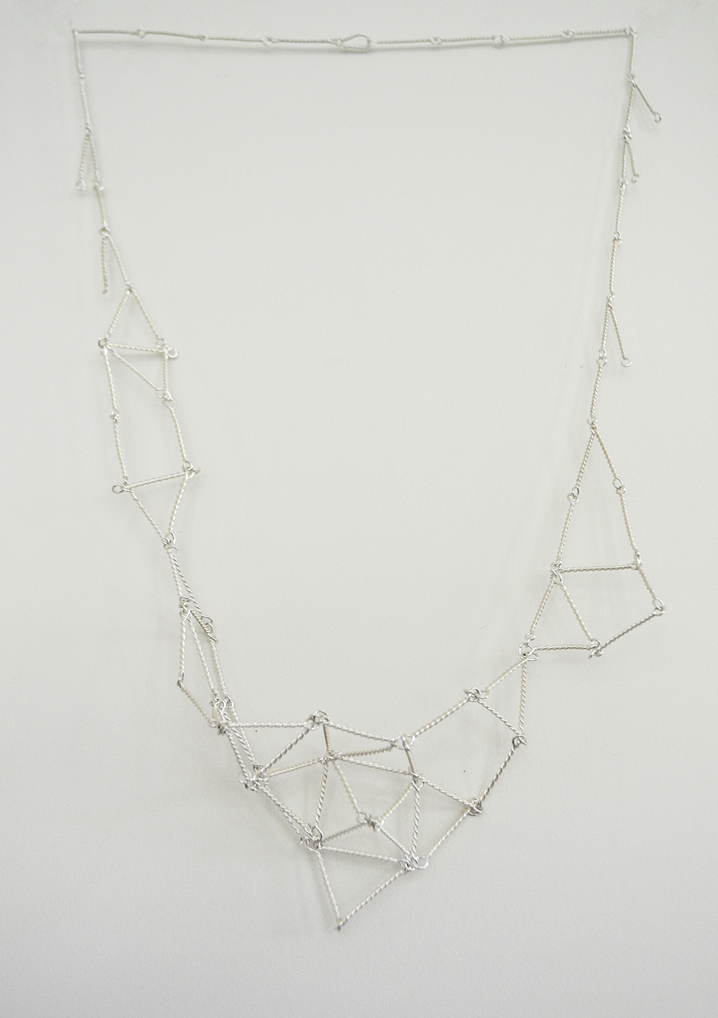 Cosmic Net necklace