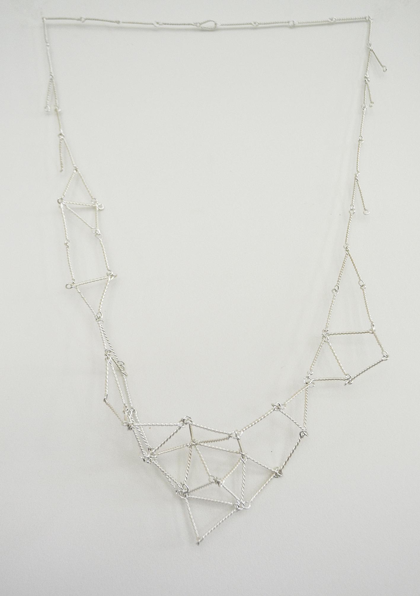 Cosmic Net necklace