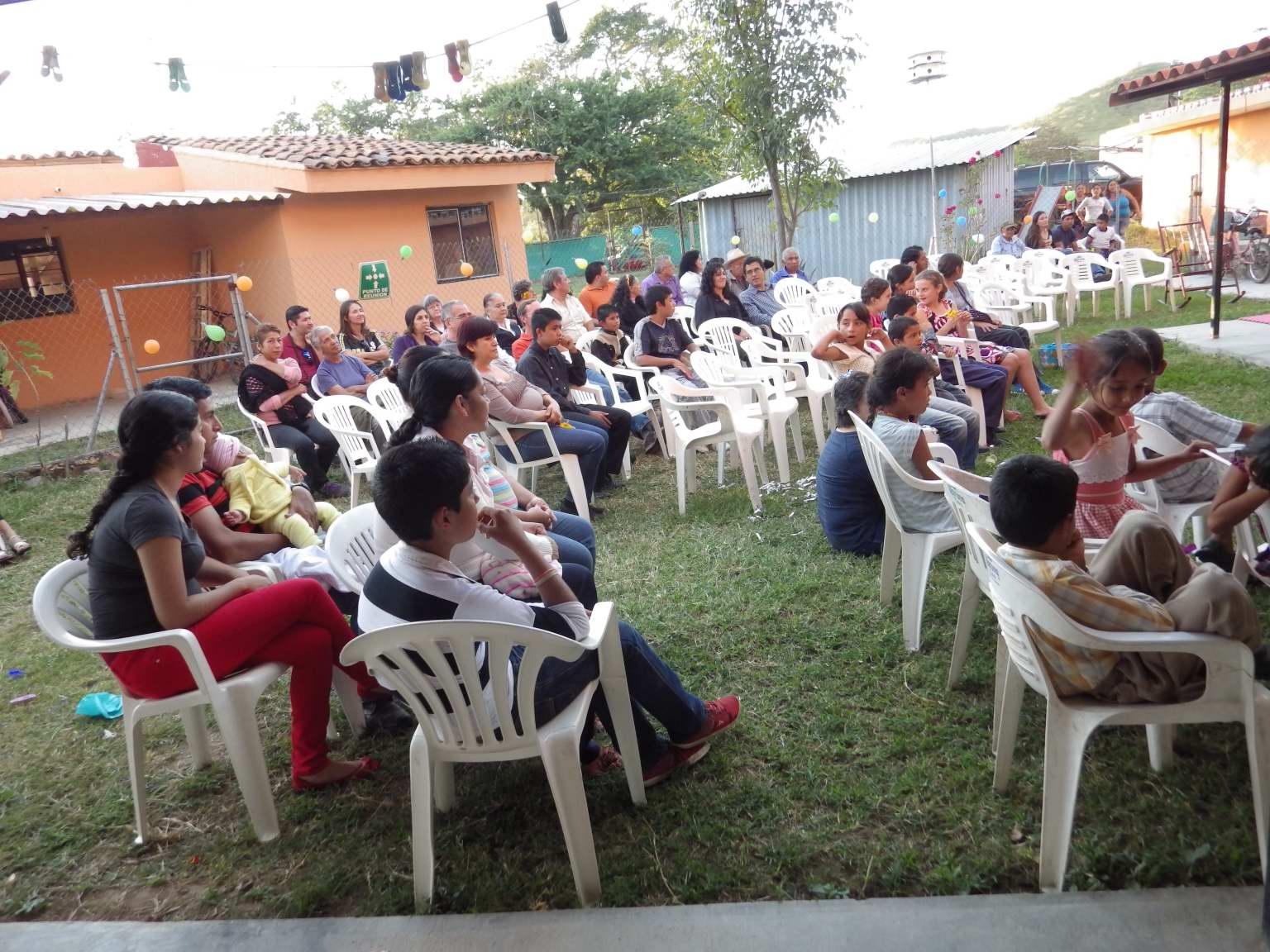 We had a good turn-out, including dear friends from a church in Guadalajara.  Everyone went home content.