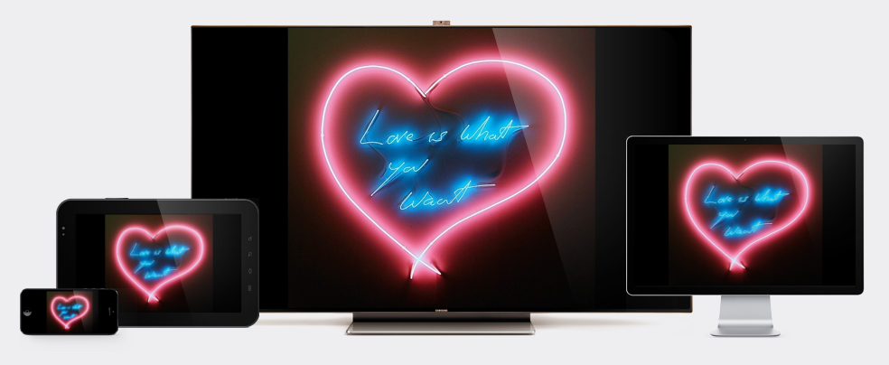 Tracey Emin  Love Is What You Want  Edition of 2,000 for   $80