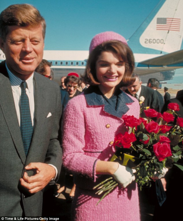 Jacqueline Kennedy's pink Chanel Suit