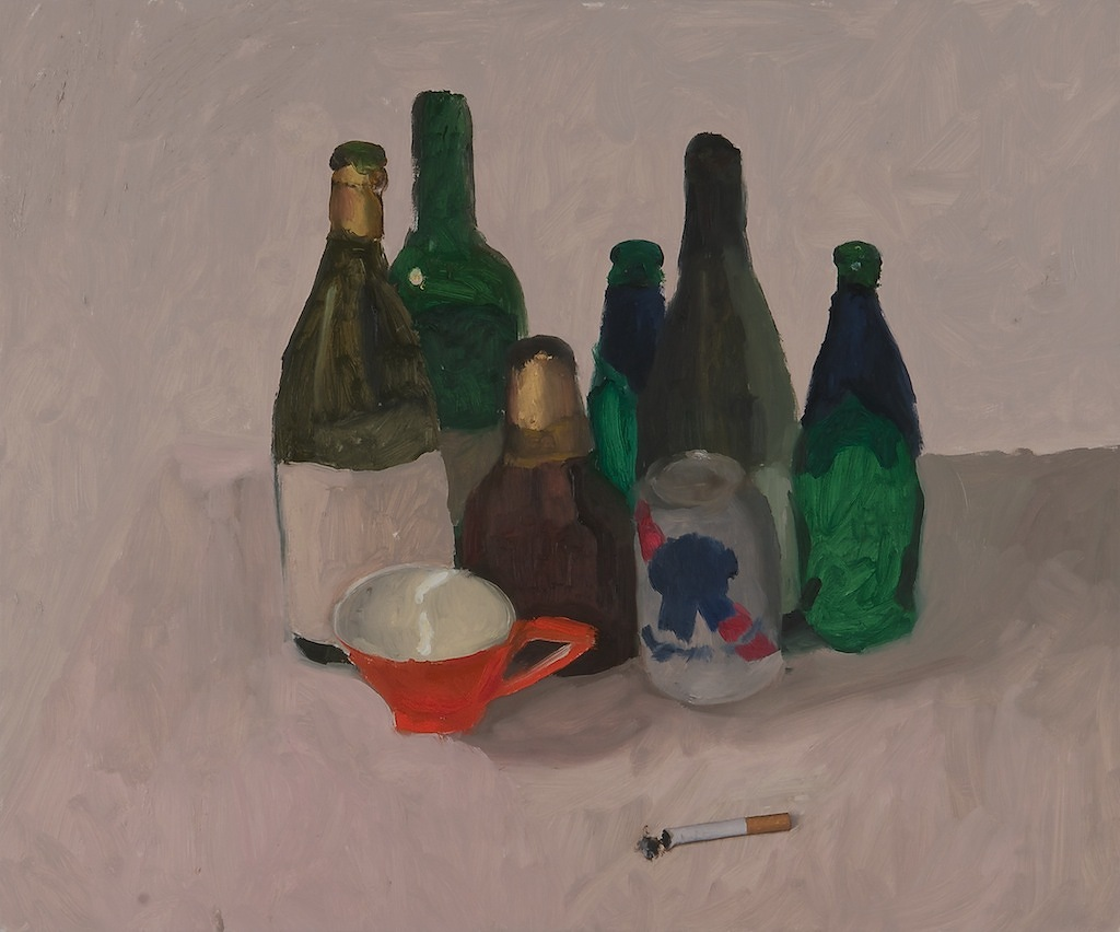 "After the Morandi Conversation  24"" x 20"""