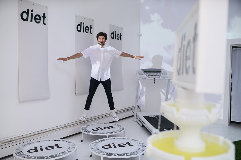 Matt Starr at diet installation