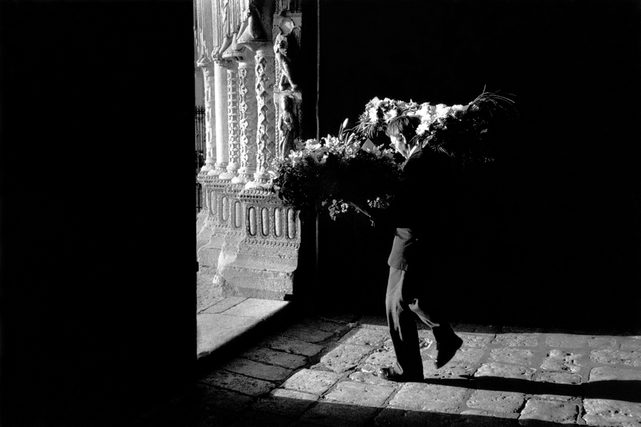 Flowers from a Funeral