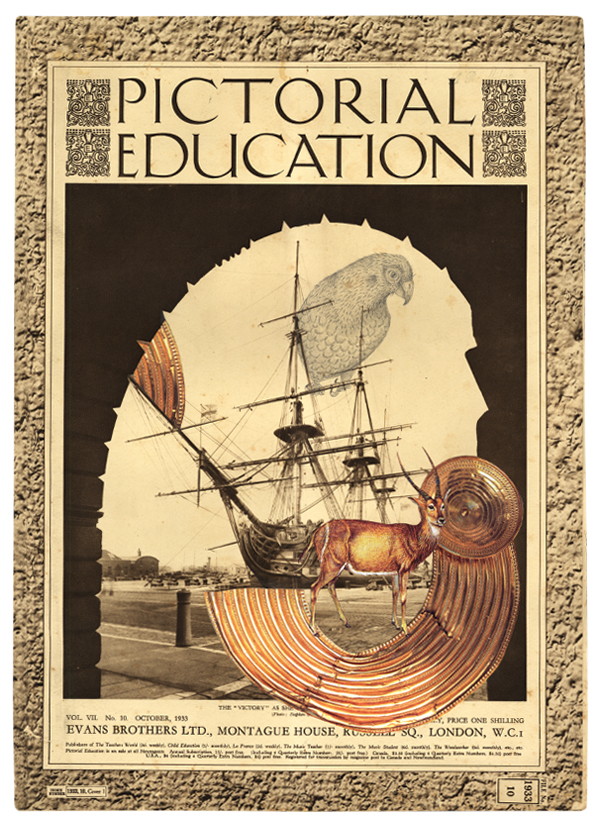 Gracia Haby & Louise Jennison,  Modifications in Pictorial education (I) , 2012, artists' book