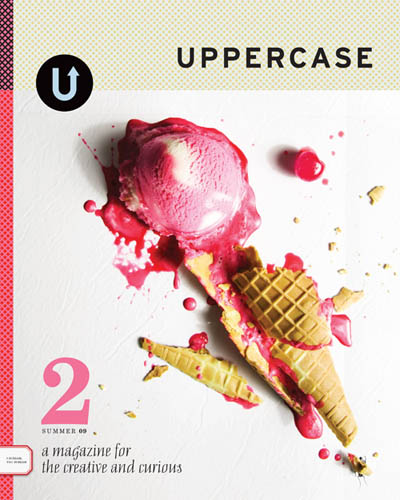 Uppercase magazine, Issue two, Summer, 2009