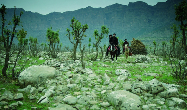 Still from  My Sweet Pepper Land  (Director: Hiner Saleem)