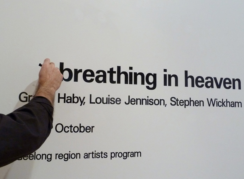 All breathing in heaven  , no longer at Geelong Gallery