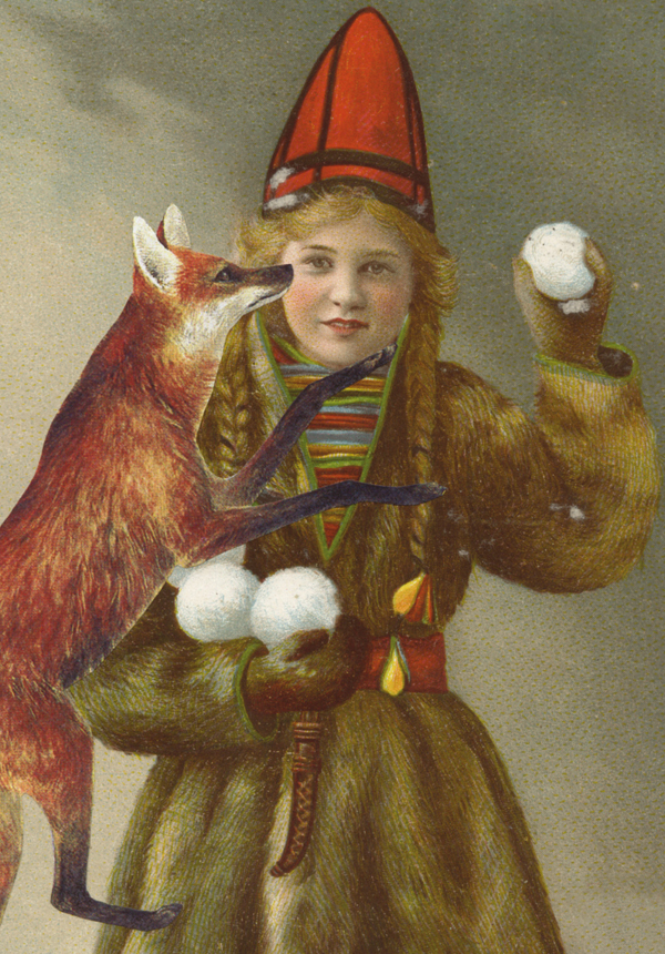 Greeting cards available through  our online store , including  Red Fox Return
