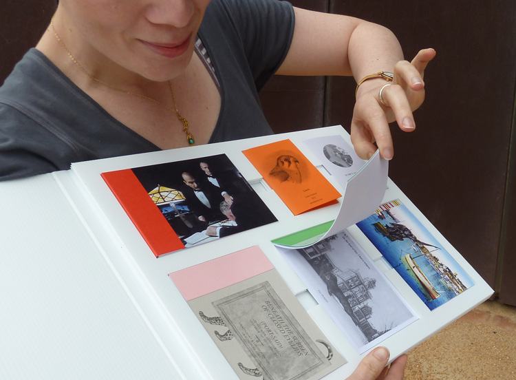 Gracia Haby & Louise Jennison,   An order of zines  , 2013, boxed set